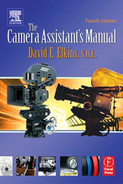 Cover of The Camera Assistant's Manual, 4th Edition