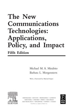 The New Communications Technologies, 5th Edition