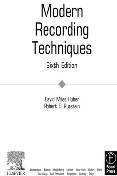 Modern Recording Techniques, 6th Edition