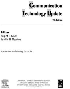 Communication Technology Update, 9th Edition