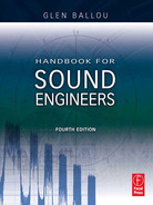 Cover of Handbook for Sound Engineers, 4th Edition