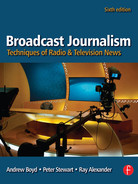 Cover of Broadcast Journalism, 6th Edition