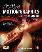 Cover of Creating Motion Graphics with After Effects, 5th Edition