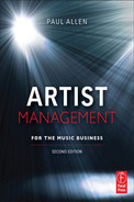 Cover of Artist Management for the Music Business 2e, 2nd Edition