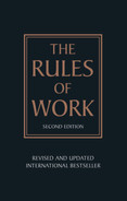 Cover of The Rules of Work, 2nd Edition