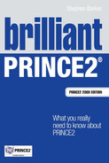 Cover of Brilliant PRINCE2