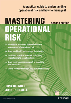 Mastering Operational Risk, 2nd Edition