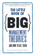 Cover of The Little Book of Big Management Theories