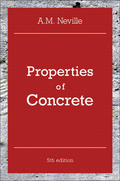 Properties of Concrete, Fifth Edition
