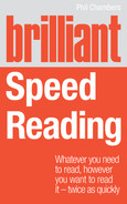 Cover of Brilliant Speed Reading