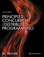 Cover of Principles of Concurrent and Distributed Programming, Second Edition