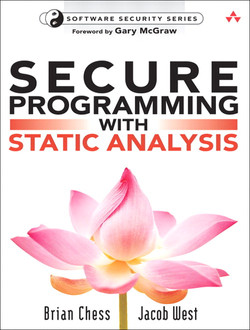 Secure Programming with Static Analysis