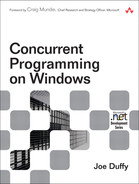 Cover of Concurrent Programming on Windows