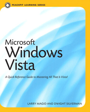 Peachpit Learning Series Microsoft Windows Vista