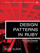 Book cover for Design Patterns in Ruby