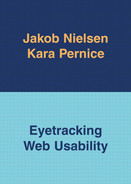 Cover of Eyetracking Web Usability