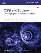 Cover of OSGi and Equinox