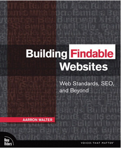 Building Findable Websites: Web Standards, SEO, and Beyond