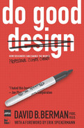 Cover of Do Good: How Design Can Change the World