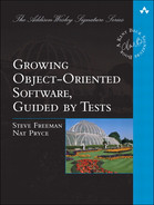 Cover of Growing Object-Oriented Software, Guided by Tests