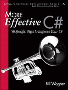 Cover of More Effective C#: 50 Specific Ways to Improve Your C#