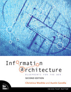 Cover of Information Architecture: Blueprints for the Web, Second Edition