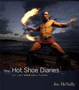 Cover of The Hot Shoe Diaries: Big Light from Small Flashes