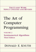 Cover of Art of Computer Programming, Volume 2: Seminumerical Algorithms, Third Edition