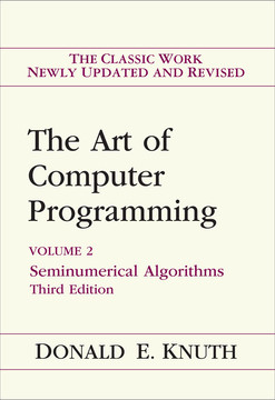 Art of Computer Programming, Volume 2, The: Seminumerical Algorithms
