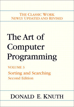 The Art of Computer Programming, Volume 3: Sorting and Searching, Second Edition