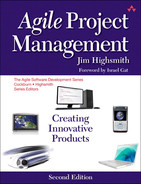 Cover of Agile Project Management: Creating Innovative Products, Second Edition