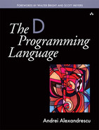 Cover of The D Programming Language