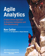 Cover of Agile Analytics: A Value-Driven Approach to Business Intelligence and Data Warehousing