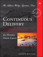 Cover of Continuous Delivery: Reliable Software Releases through Build, Test, and Deployment Automation, Video Enhanced Edition