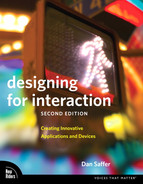 Cover of Designing for Interaction: Creating Innovative Applications and Devices, Second Edition