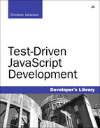 Cover of Test-Driven JavaScript Development