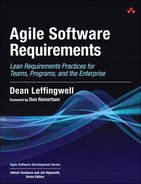 Cover of Agile Software Requirements: Lean Requirements Practices for Teams, Programs, and the Enterprise