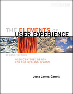 Cover of The Elements of User Experience, Second Edition: User-Centered Design for the Web and Beyond