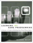 Cover of Learning iOS Game Programming