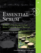 Cover of Essential Scrum: A Practical Guide to the Most Popular Agile Process