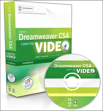 Learn Adobe Dreamweaver CS4 by Video: Core Training in Web Communication