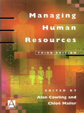 Managing Human Resources, 3rd Edition