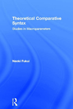 Theoretical Comparative Syntax