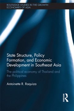 State Structure, Policy Formation and Economic Development in Southeast Asia