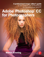 Cover of Adobe Photoshop CC for Photographers