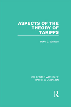 Aspects of the Theory of Tarriffs