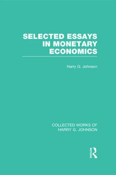 Selected Essays in Monetary Economics