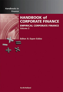 Handbook of Empirical Corporate Finance