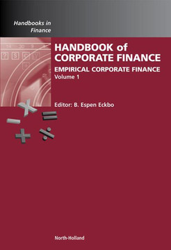 Handbook of Empirical Corporate Finance SET