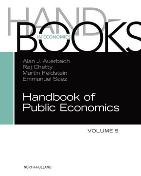 Handbook of Public Economics, Vol. 5